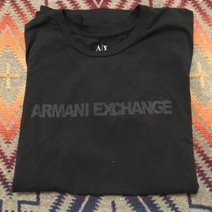 Armani Exchange Crew neck slim fit T Shirt